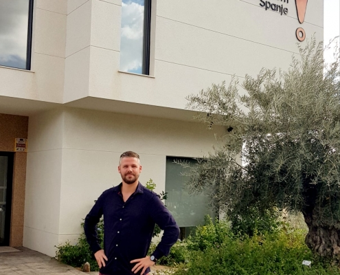 Stef Ter Braak, officemanager IFAR La Nucía