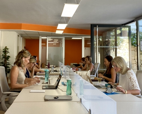 Co-working op het Business centrum